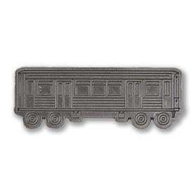 EL Train Car Metal Pin