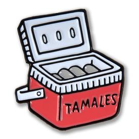Tamale Cooler Enamel Pin