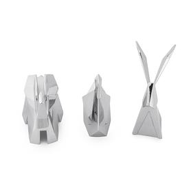 Origami Ring Holders SILVER