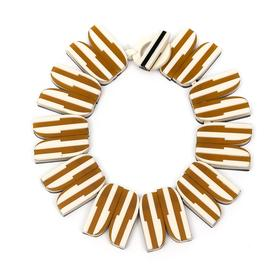 Aurora Striped Collar Necklace