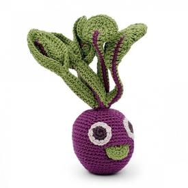 Beet Root Crochet Plush Rattle