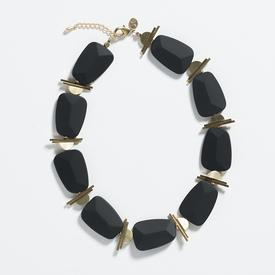 Palais Necklace - Black