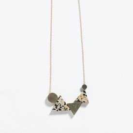 Klee Necklace- Dalmation Jasper