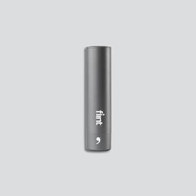 Retractable Lint Roller Metallic - Gunmetal
