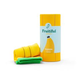 Fruitiful Socks- Banana