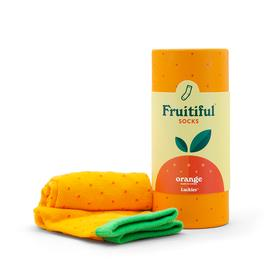Fruitiful Socks - Orange