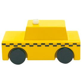 Wood Wind-Up NYC Taxi Toy TAXI