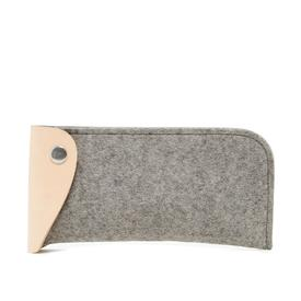 Felt Eyeglass Case - Granite