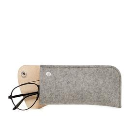 Felt Eyeglass Case - Granite GRANITE_NATURAL