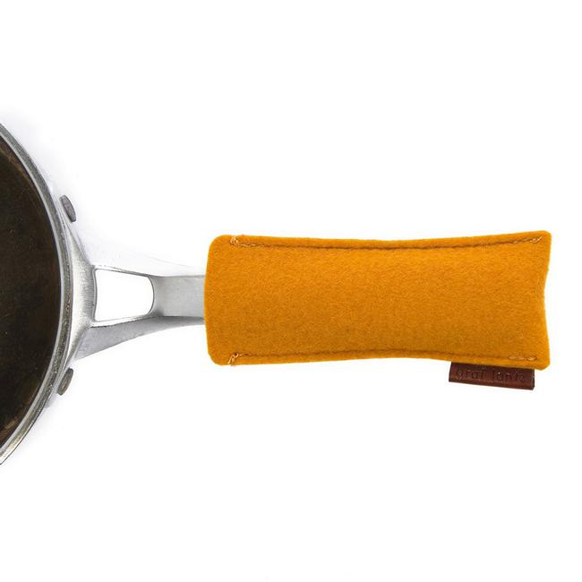 Felt Pan Handle - Tumeric