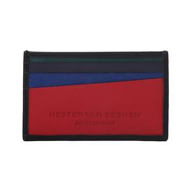 Cardholder Diagonal Wallet - Mars Red