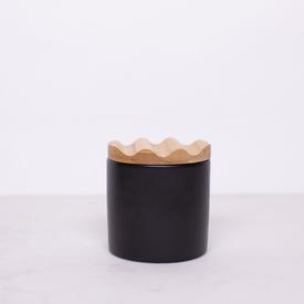 Small Crock - Black