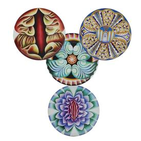 Judy Chicago Coasters Set of 4