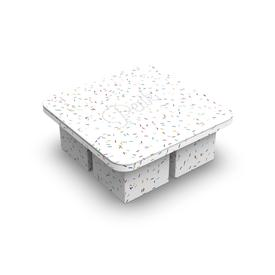 Extra Large Ice Cube Tray - Confetti WHITE_MULTI