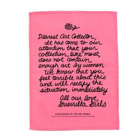 Guerrilla Girls - Dearest Art Collector Handkerchief PINK