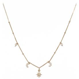 Tara Necklace - Gold Filled GOLD_CZ