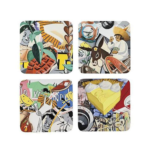 David Salle Coasters Set