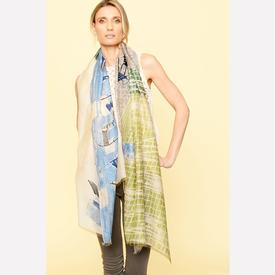 Poolside Scarf - Blue