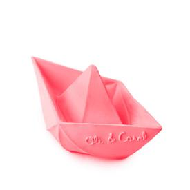 Origami Boat Teether Toy - Pink PINK