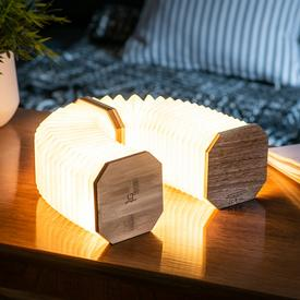 Smart Accordion Lamp - Bamboo