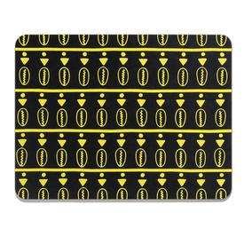 Duro Olowu x MCA Placemat - Floating Cowrie Black and Yellow BLACK_YELLOW