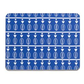 Duro Olowu x MCA Placemat - Floating Cowrie Blue BLUE_WHITE