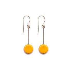 Yellow Drop Earrings