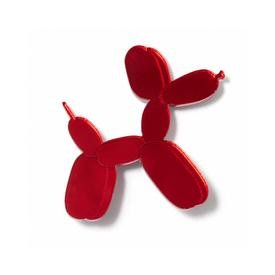 Balloon Dog Pin - Red