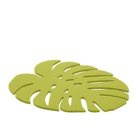 Large Trivet Monstera - Pistachio