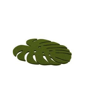 Medium Trivet Monstera - Loden Green