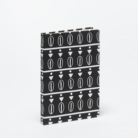 Duro Olowu Hardbound Journal Cowrie Black & White - Large