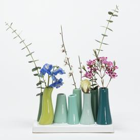 Chartreuse Pooley Vase