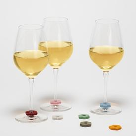 Wine-O's Hexagonal Wine Markers Set