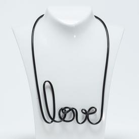 Love Necklace - Black