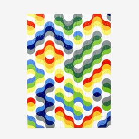 Pattern Puzzle Small - Arc