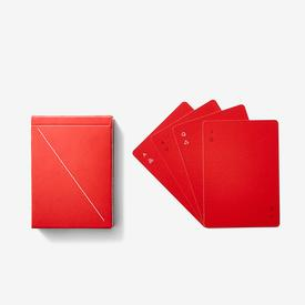 Playing Cards Minim - Red