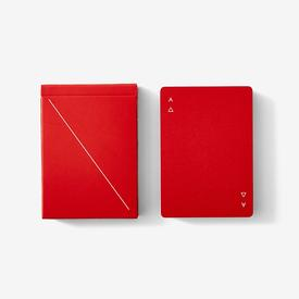 Playing Cards Minim - Red RED