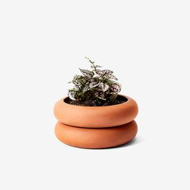 Stacking Planter Small - Terracotta