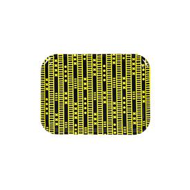 Duro Olowu Tray Lagos Stripe Yellow and Black