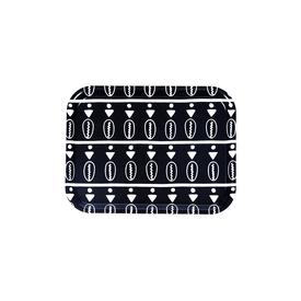 Duro Olowu Tray Floating Cowrie Black and White