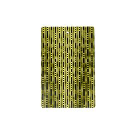 Duro Olowu Chopping Board Lagos Stripe Yellow and Black