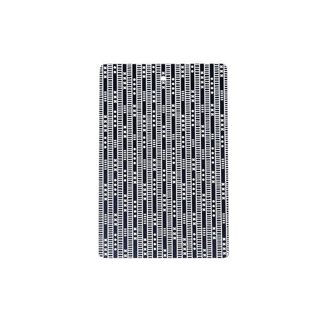 Duro Olowu Chopping Board Lagos Stripe Black And White