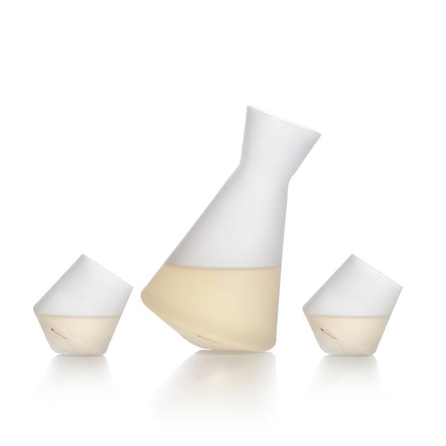 Frosted Vaso - Sake Set
