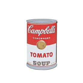 Soup Can Pop Art Pin