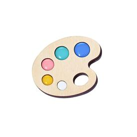 Paint Palette Pin