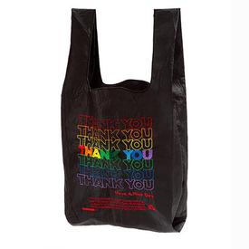 Thank You Rainbow Tote - Black