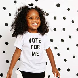 Vote for Me Children's T-Shirt WHITE
