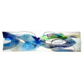 Stained Glass Scarf - Blue