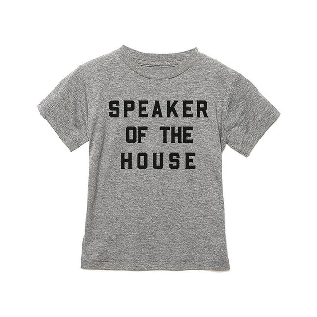 Speaker Of The House Children's T- Shirt - Gray