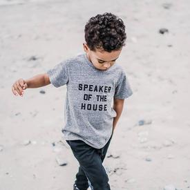 Speaker of the House Children's T-Shirt - Gray LT_GREY